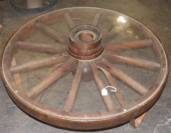 Wagon Wheel Coffee Table Wagon Wheel Coffee Table
