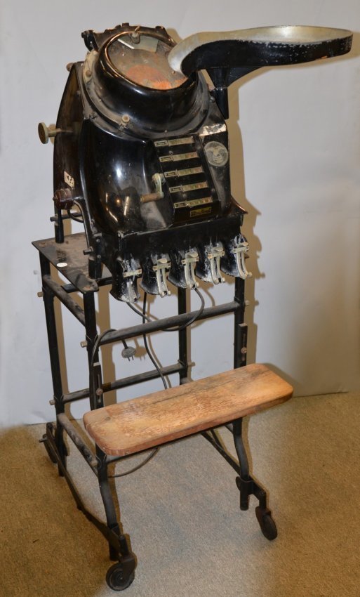 Electric Coin Counting Machine Standard Johnson Co B