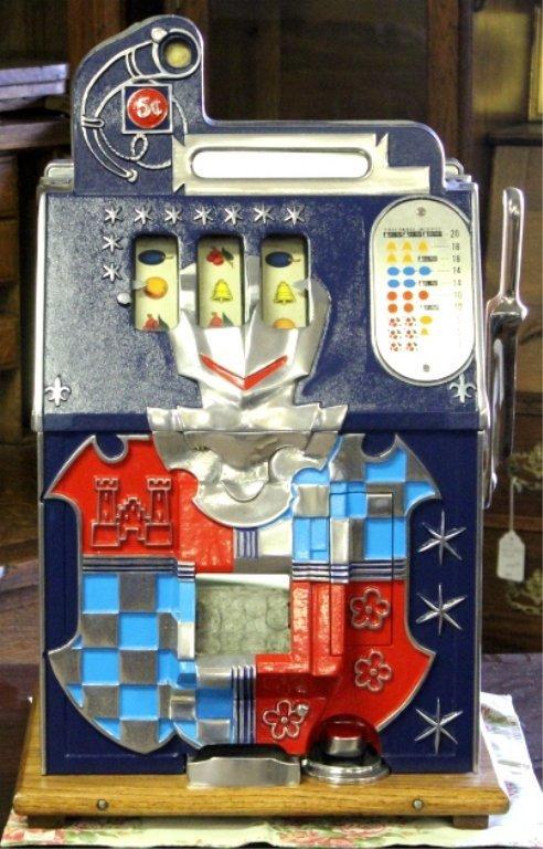 mills castle 5 cent slot machine