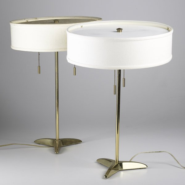 560 gerald thurston for stiffel pair of table lamps lot 560. Black Bedroom Furniture Sets. Home Design Ideas