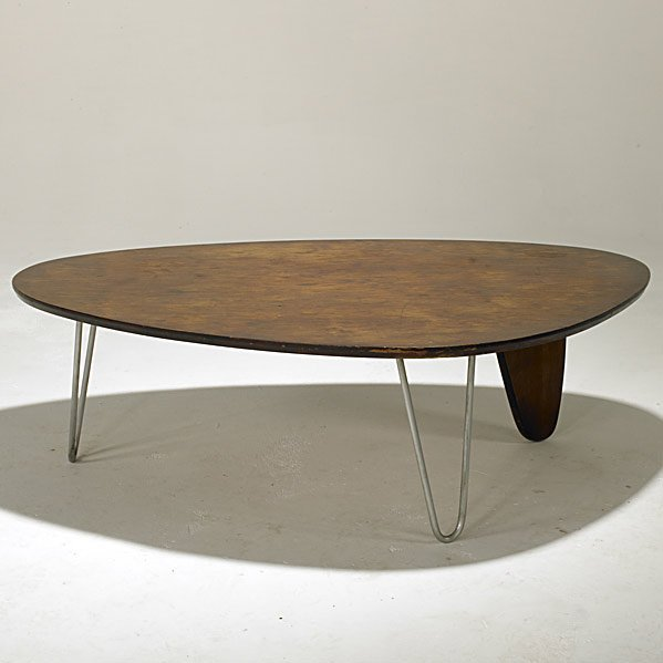 707 Isamu Noguchi Herman Miller Rudder Coffee Table Lot 707