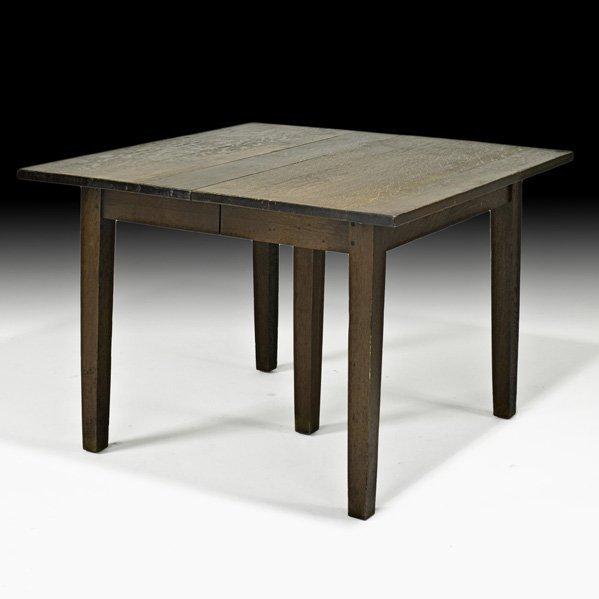 850 gustav stickley rare dining table lot 850 for Table 850 unitekno