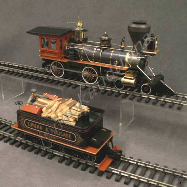 19: BACHMANN SPECTRUM 4-4-0 G-SCALE ENGINE/TENDER : Lot 19