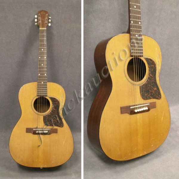 59 vintage favilla new york steel acoustic guitar