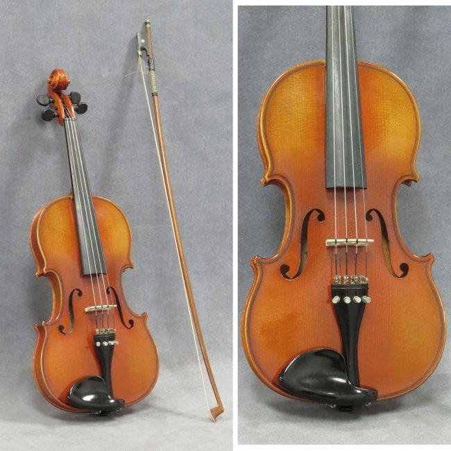 Karl hofner bubenreuth 1989 labeled violin lot 18