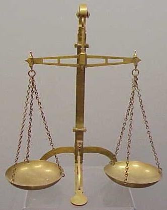 pan balance scale - photo #16