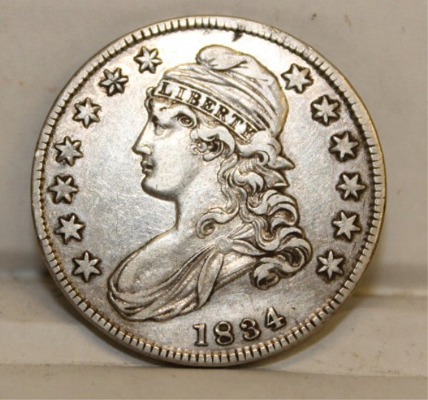 1834 capped bust half dollar lot 41 for Direct jewelry falls church va