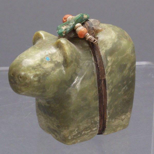 Zuni stone bear carvings pueblo indian art lot
