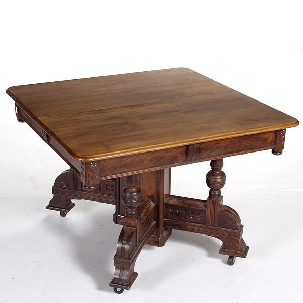 224 Victorian Eastlake Style Dining Table Lot 224 : 1059111l from www.liveauctioneers.com size 600 x 600 jpeg 39kB