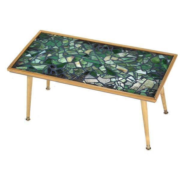 Stained Glass Coffee Table Book