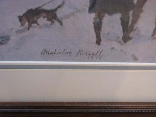 599 Malcolm Parcell Bradford House 1788 Lithograph Lot 599