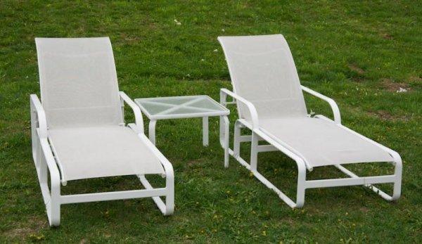 972 Group Brown Jordan Quantum Outdoor Furniture Lot 972