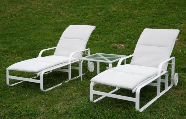 975 Group Brown Jordan Quantum Outdoor Furniture Lot 975