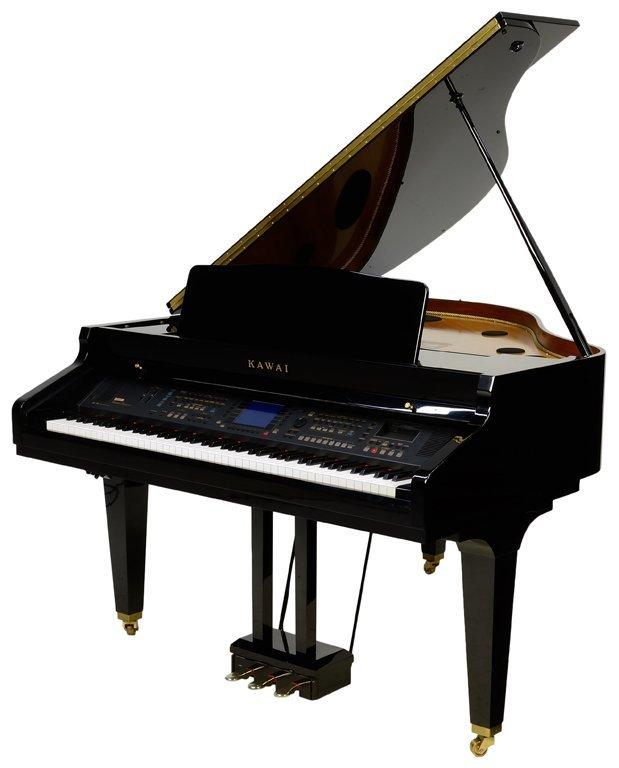 Digital baby grand piano kawai occasion