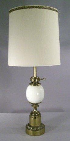 936 ostrich egg shaped lamp stiffel lot 936. Black Bedroom Furniture Sets. Home Design Ideas
