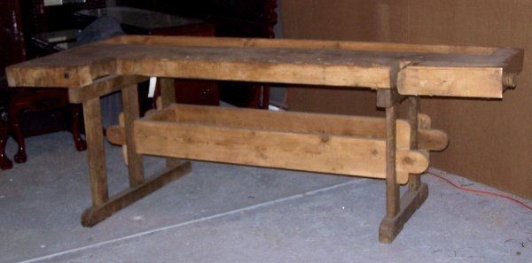 antique carpenter's bench