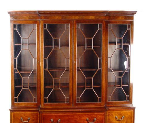 drawers in kitchen cabinets 1023 baker mahogany breakfront china cabinet 15062