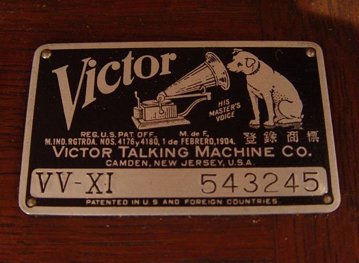 victor talking machine company serial numbers