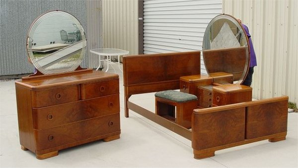 Art Deco Bedroom Furniture Art Deco Bedroom Set