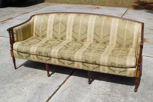 56 Hickory Chair Co Sheraton Sofa Lot 56