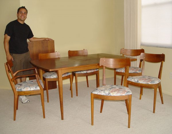 ... Furniture Dining Table Mid Century Drexel Dining Table ...