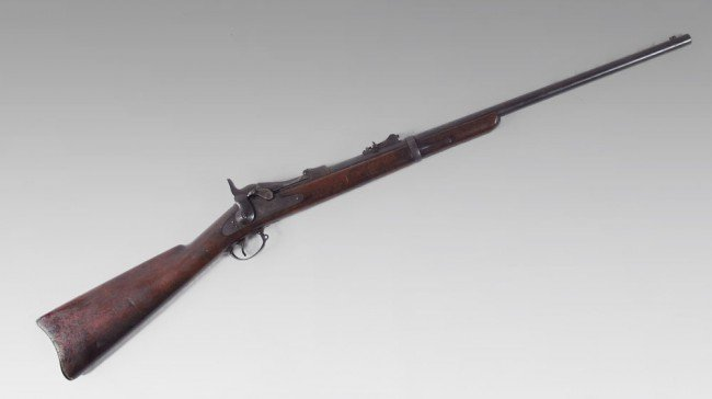 217A: CONVERTED MODEL 1873 SPRINGFIELD TRAPDOOR CARBINE ...