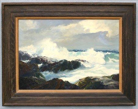 92 bennett bradbury seascape painting