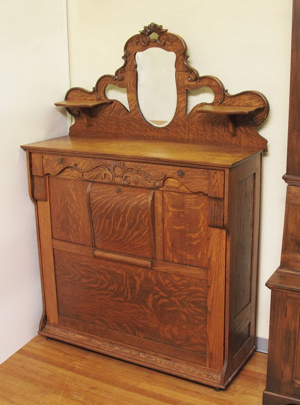 how to fold letter 31 carved oak murphy bed lot 31 29397