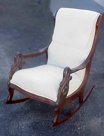 ... Carved Back Splat Rocker / Rocking Chair (R166 ... Images - Frompo