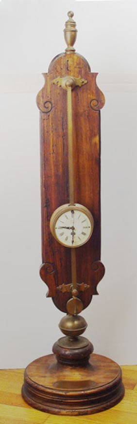 127 German Gravity Clock Anno 1750 Lot 127