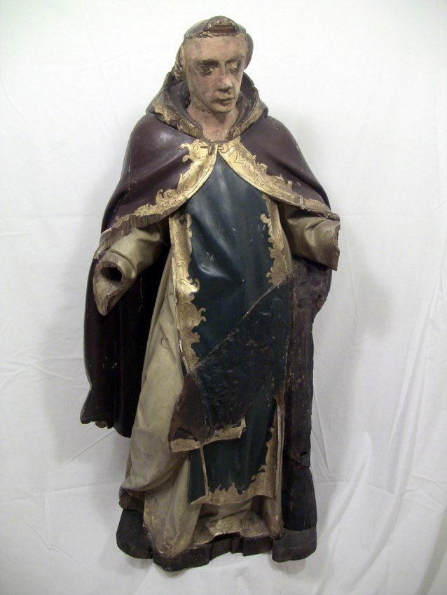 1500 S Pope Damasus I Portuguese Statue 42 Quot Lot 223