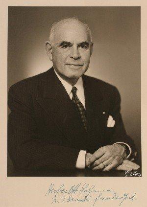Herbert Henry Lehman net worth salary