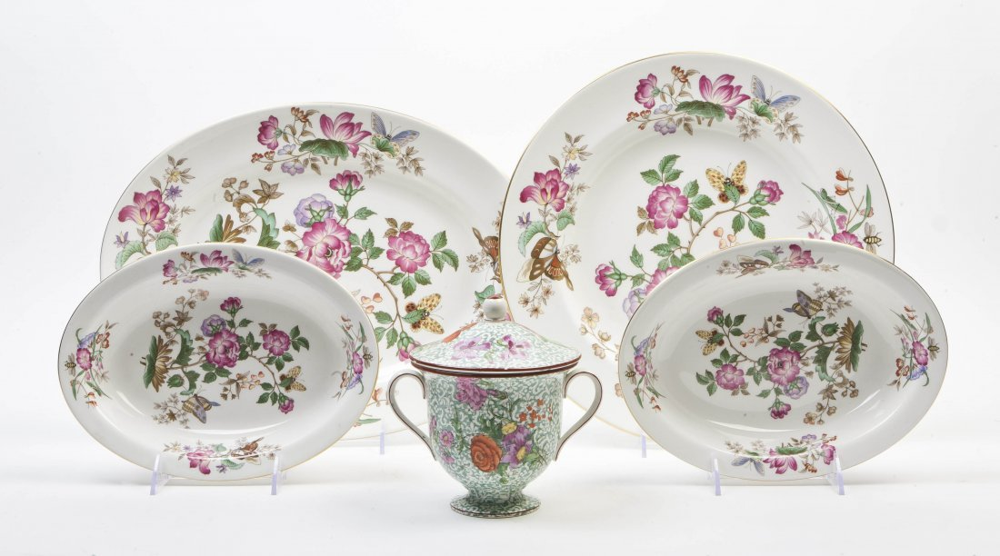 what is the value of a wedgwood bone china charnwood pattern. Black Bedroom Furniture Sets. Home Design Ideas