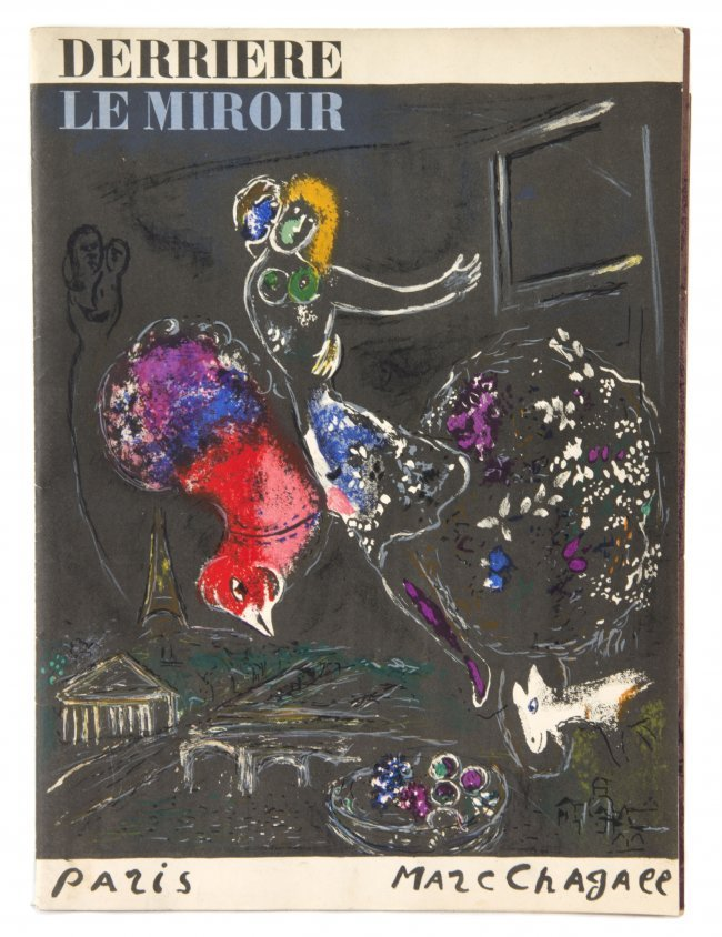 375 chagall marc derriere le miroir 66 67 68 paris for Chagall derriere le miroir