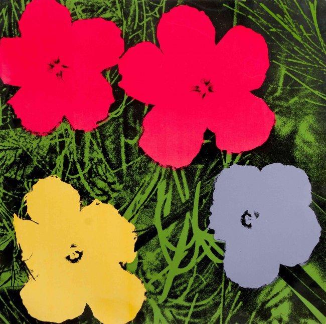 Andy Warhol, (American, 1928-1987), Flowers, 1970 : Lot 1237