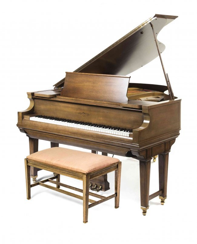 A Chickering Baby Grand Player Piano Length 69 Inches