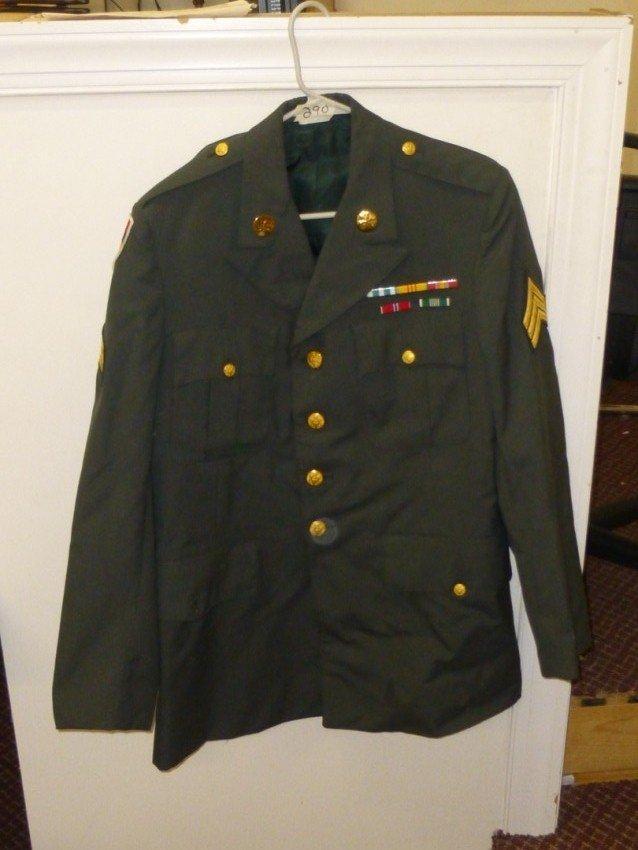 Vintage Military Uniform 70