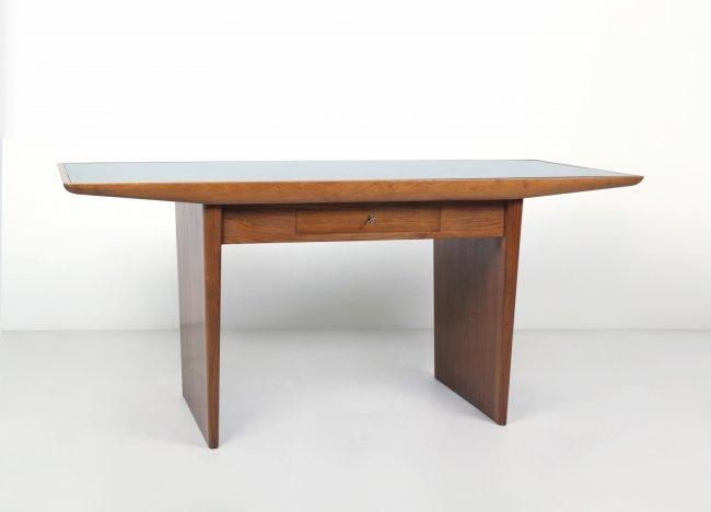 GIO PONTI Una scrivania, anni ¿50. Legno : Lot 2049