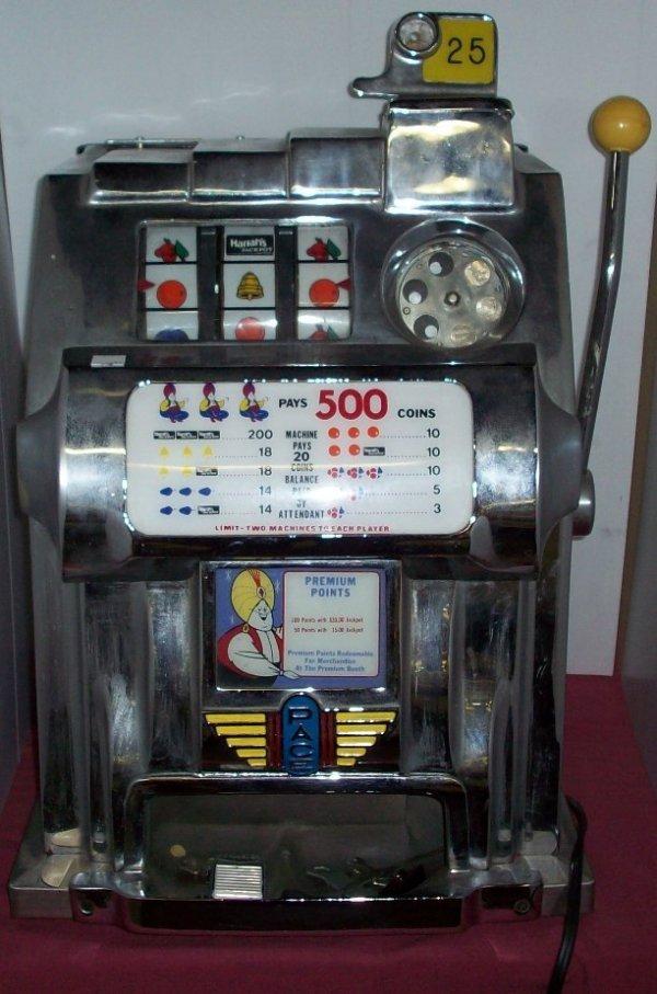 25 cent slot machine