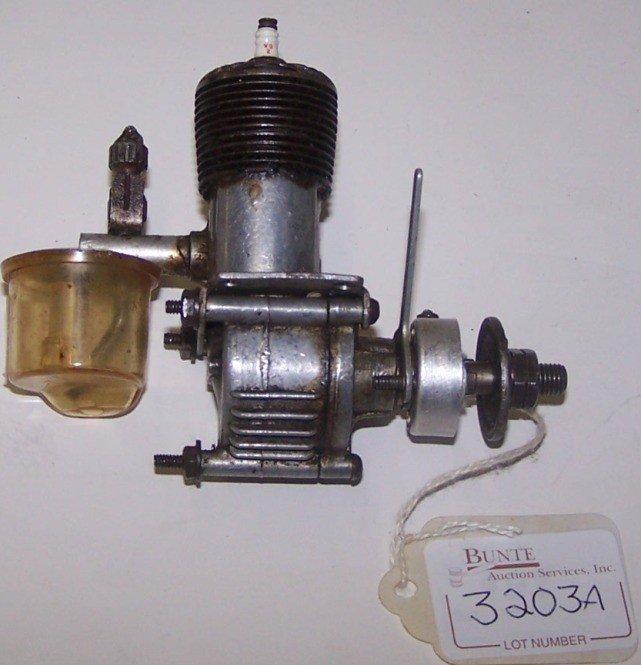 Vintage Model Airplane Engine 76