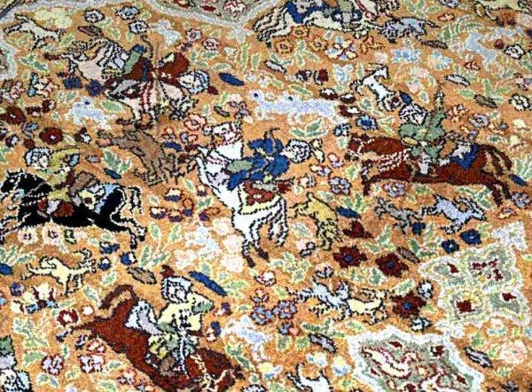 189 Quot Palace Quot Size Karastan Rug Persian Hunting Scenes