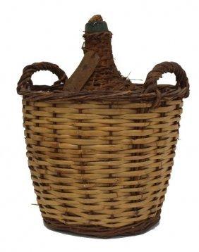 Confirm. was Vintage wine basket bottle