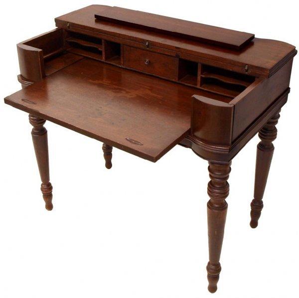 Pin Antique Walnut Spinet Desk Piano Secretary On Pinterest