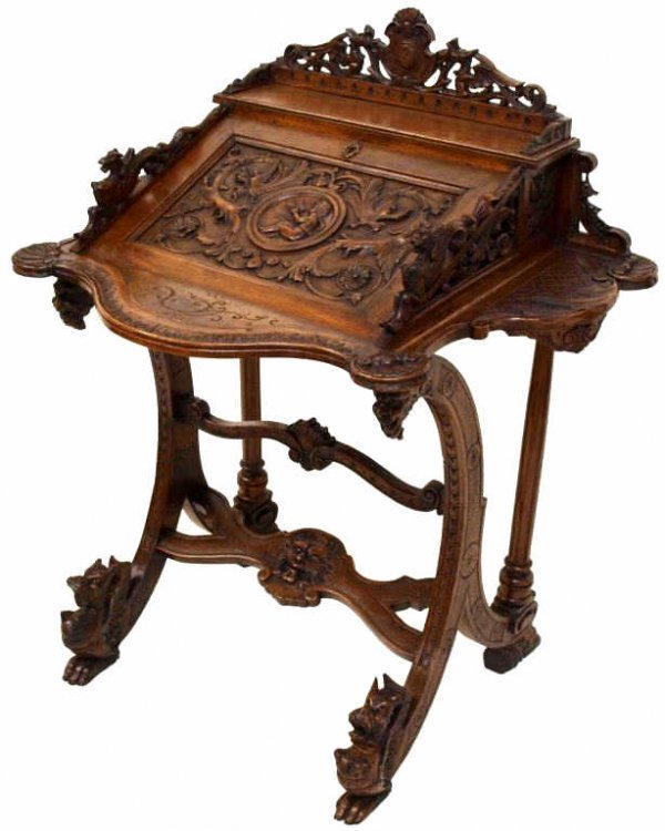 ornate writing desk Hudson home office wall desk with writing desk by parker house furniture.