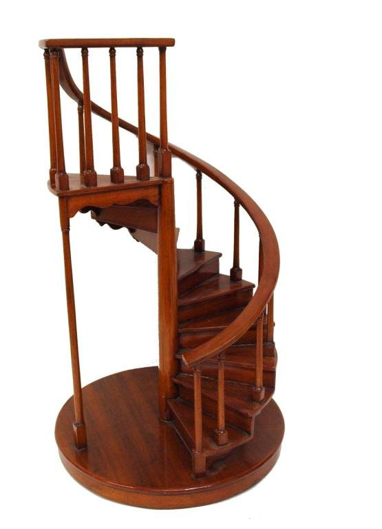 310 Miniature Furniture Spiral Staircase Foot Stool