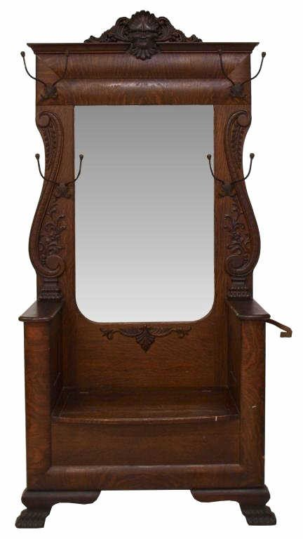 Antique Foyer Mirror : Images about halltrees on pinterest victorian hall