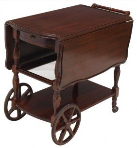 Awesome Antique Tea Carts With Wheels