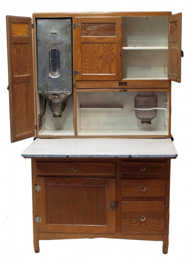 377 SELLERS 1920 39 S FITTED KITCHEN CABINET INDIANA
