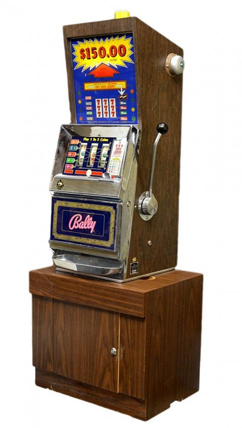 old 25 cent slot machines