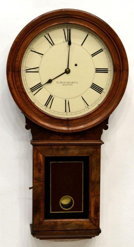 138 E Howard Model 70 Wall Clock Lot 138